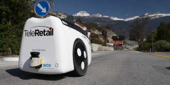Switzerland: Teleretail built a delivery robot