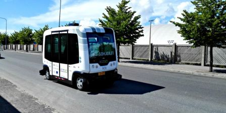 Finland: New self-driving electric RoboBuses are launched