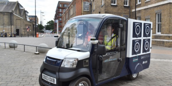 Autonomous Grocery Vans Are Making Deliveries in London