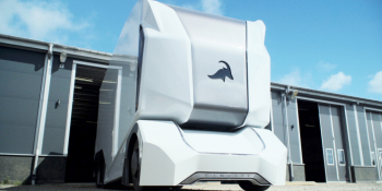 Einride's T-Pod self-driving transport EV gets a prototype