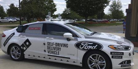 US Delivery without drivers: Domino's, Ford team up for test