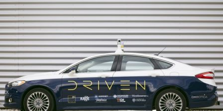 Three new driverless cars hitting UK roads