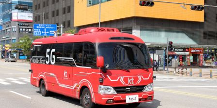 Korean Telecom allowed to test self-driving bus