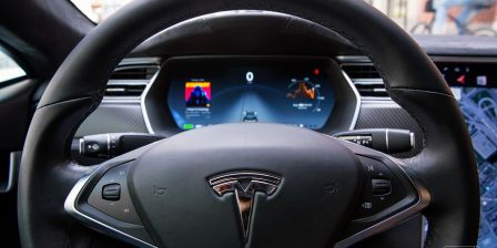 Tesla's Autopilot stucks
