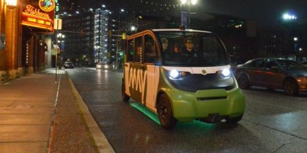 Autonomous Vehicles: Meet Ann Arbor's May Mobility
