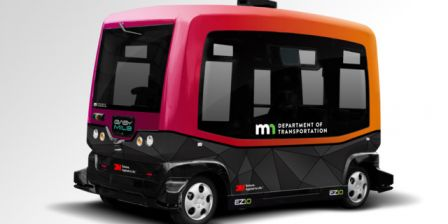 MnDOT Tests Driverless Shuttle Bus