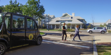 Optimus Ride will provide self-driving vehicles to Boston