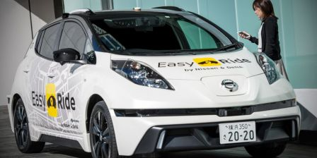 Nissan plans its own self-driving taxi service in Japan