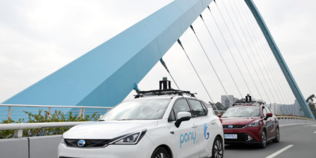 Pony.ai launches a self-driving ride-hailing fleet in China