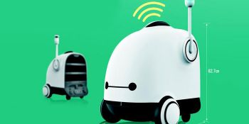 Food Delivery App Tests Self-Driving Robot