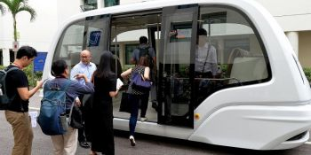 Look, Ma, no driver: Gearing up for NTU driverless shuttle