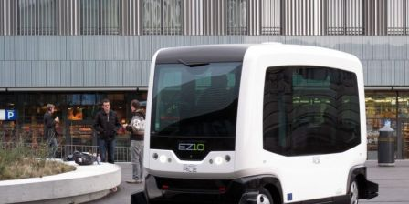 Austin Plans Test of Driverless Electric Shuttles