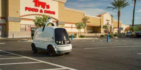 Nuro deploys autonomous delivery cars without safety drivers